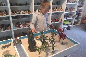 Sandplayterapi for både børn og voksne